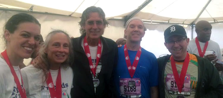 Photo of the 2016 Relay Team