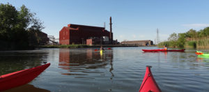 Canoeing on the Rouge River