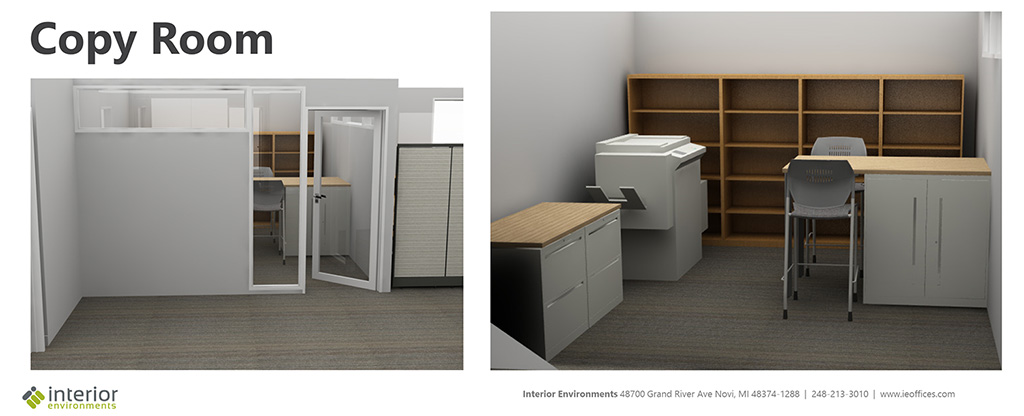 PARC Office rendering - Copy Room