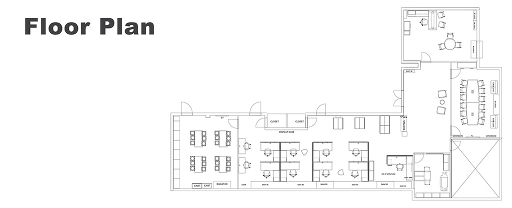 PARC Office Floor Plan
