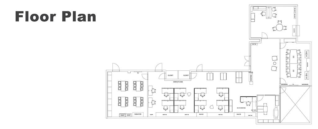 PARC Office Floor Plan