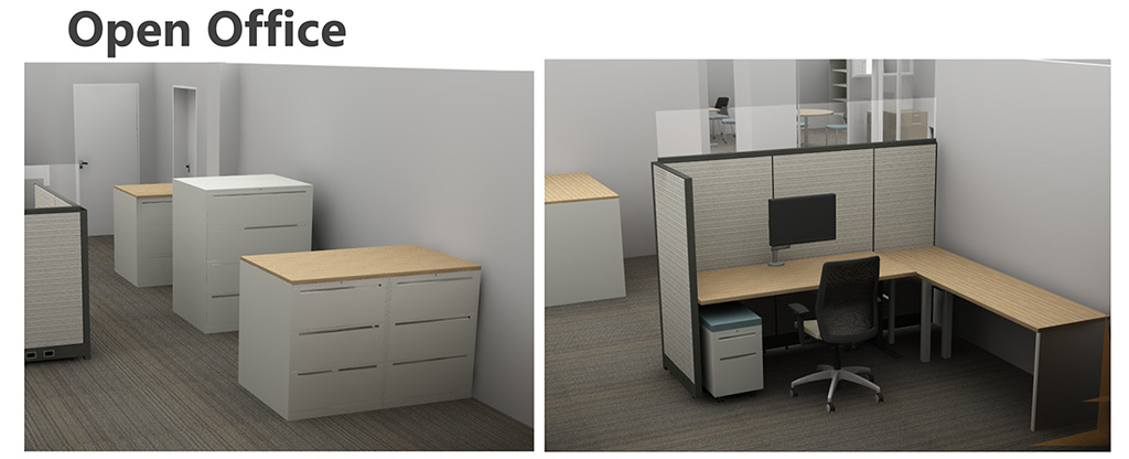 PARC Office rendering -Open Office 2