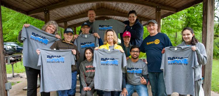 Rouge Rescue volunteers 2018