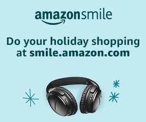 AmazonSmile banner for holiday shopping
