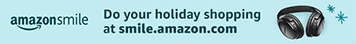 AmazonSmile holiday shopping banner 356x44