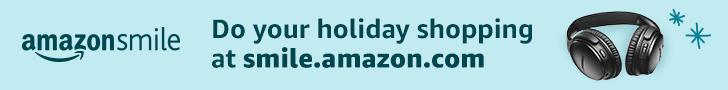 AmazonSmile holiday shopping banner