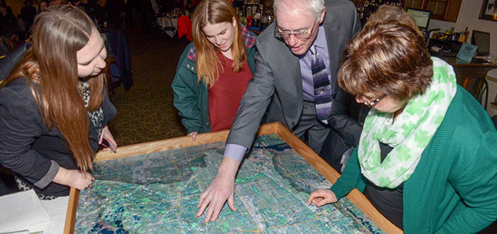 Examining the watershed map