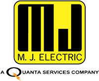 M.J. Electric logo