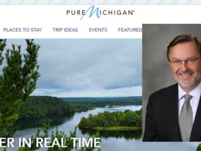 Pure Michigan promo slide
