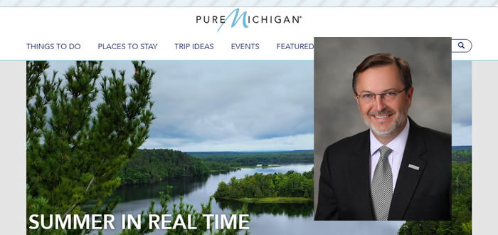 Pure Michigan promo slide