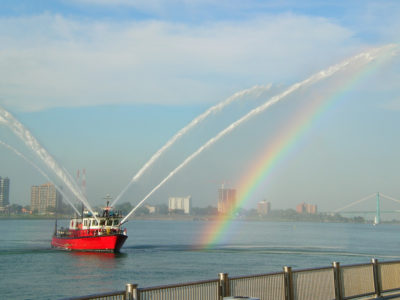 The Randolph Curtis Detroit Fire Boat