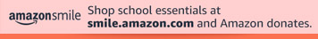 Amazon Smile graphic for back to school promotion