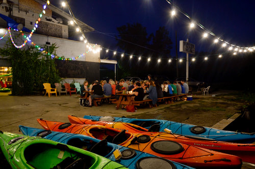 Detroit River Sports and Coriander Kitchen and Farm Paddle to Table
