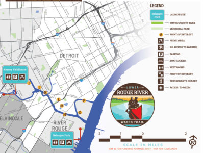 Rouge River Water Trail - Eastern Section