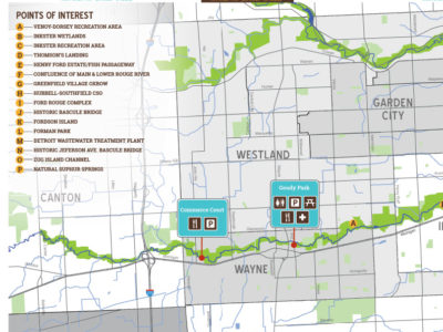 Rouge River Water Trail - Western Section