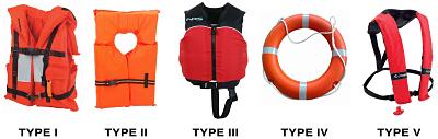 Life vest options image