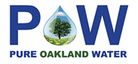 Pure Oakland Water logo