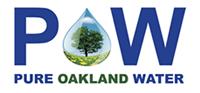 Pure Oakland Water logo