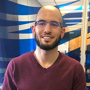 Adam Elghoul, Watershed Planner, photo