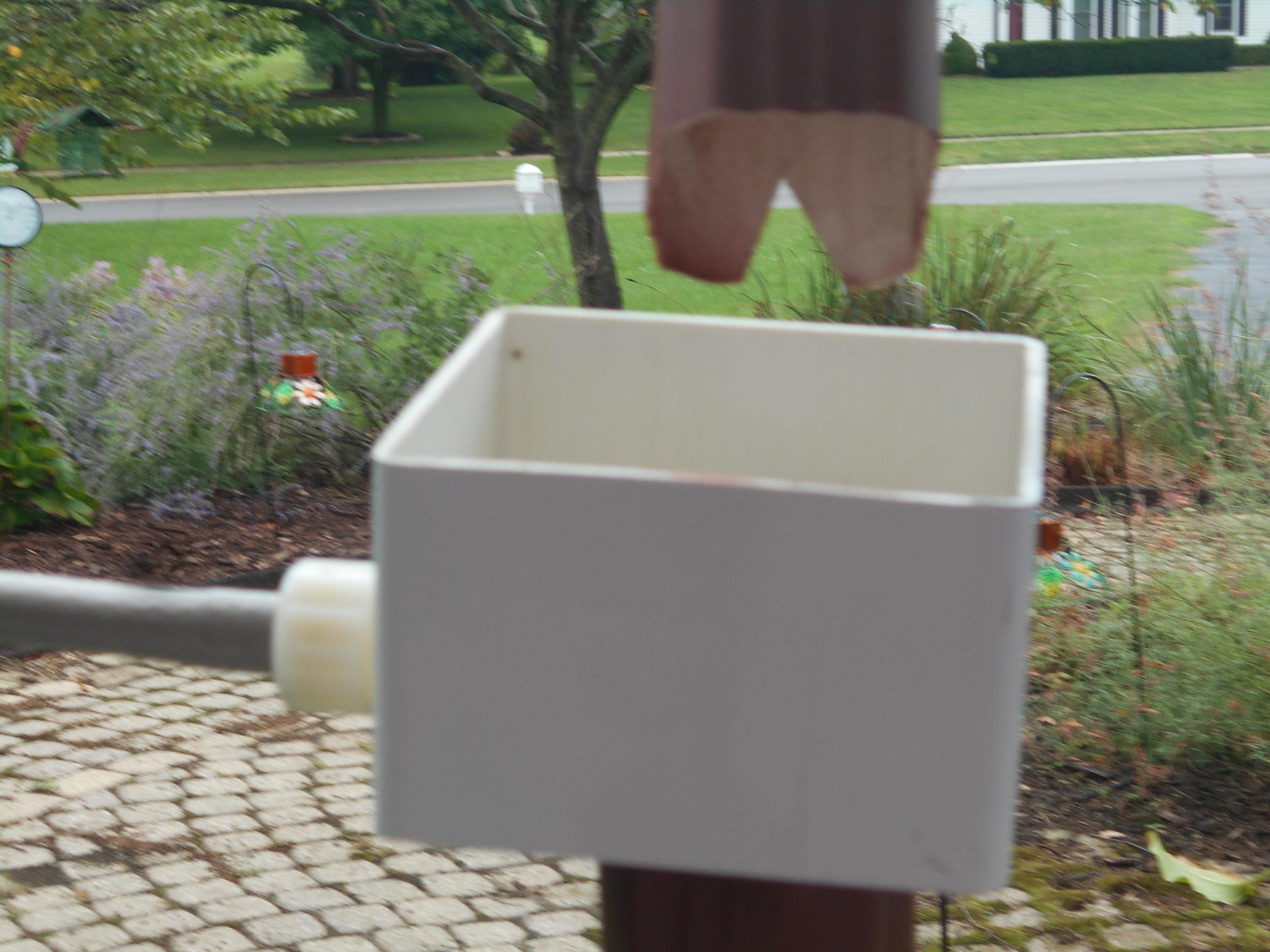 Upcycle Rain Water Diverter