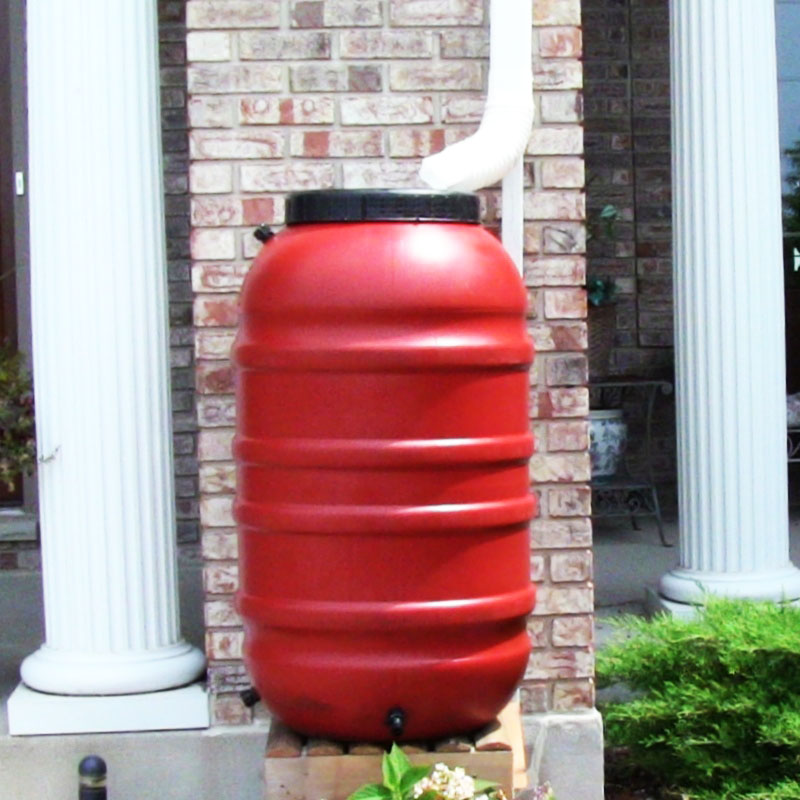 50 Gallon Rain Barrels (Terra Cotta)