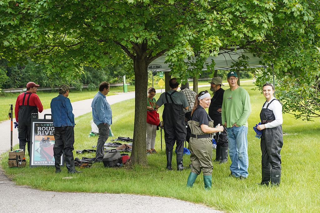 Log Jam Day 072421 group gathering