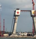Art Murals on the Gordie Howard International Bridge - Canadian Side